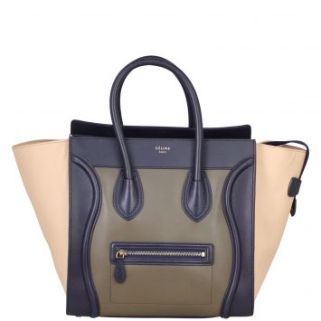 Celine Mini Luggage Tote Front