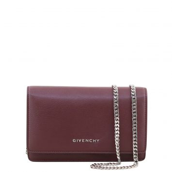 Givenchy Pandora Wallet on Chain Front