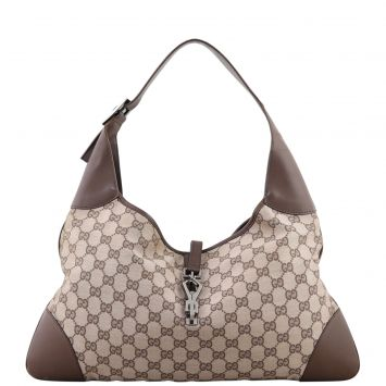Gucci GG Canvas Jackie O Hobo Front