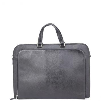 Prada Saffiano Lux Briefcase Front