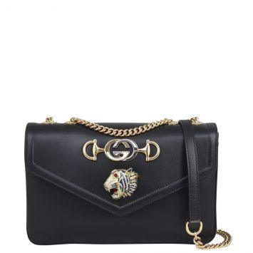 Gucci Rajah Medium Shoulder Bag Front