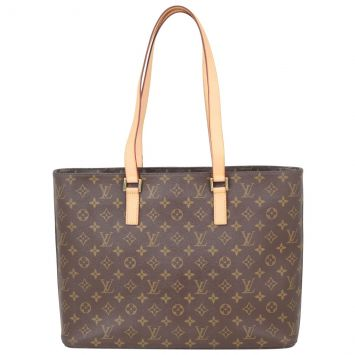 Louis Vuitton Luco Tote Monogram Front