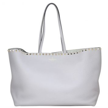 Valentino Rockstud Shopping Tote Front