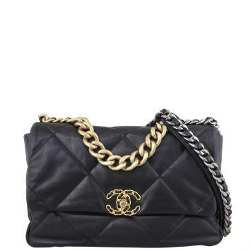 Chanel 19 Flap Bag Large Front