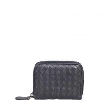 Bottega Veneta Intrecciato Mini Wallet Front