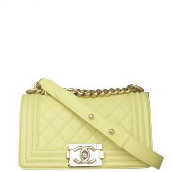 Chanel Boy Small Front