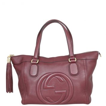 Gucci Soho Small Zip Tote Front