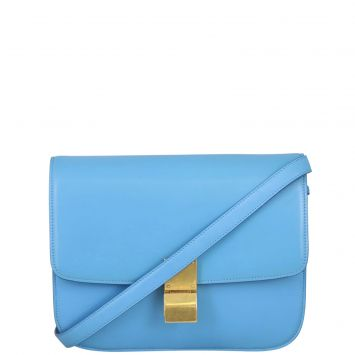 Celine Medium Classic Box Bag Front Strap