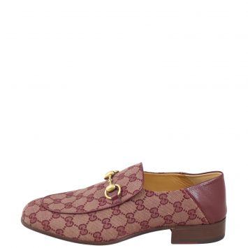 Gucci GG Supreme Loafers Side