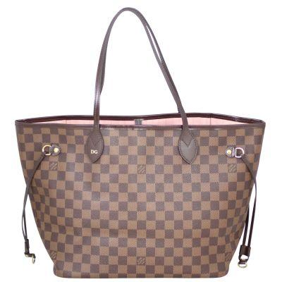 Louis Vuitton Neverfull MM Damier Ebene Front