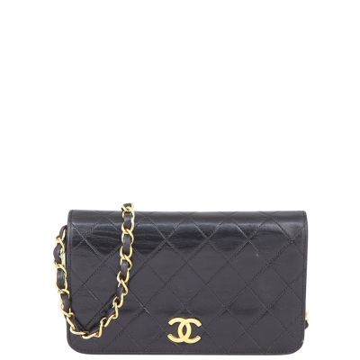 Chanel CC Full Flap Bag Small Front