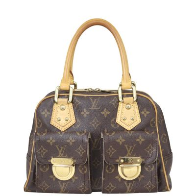Louis Vuitton Manhattan PM Monogram Front