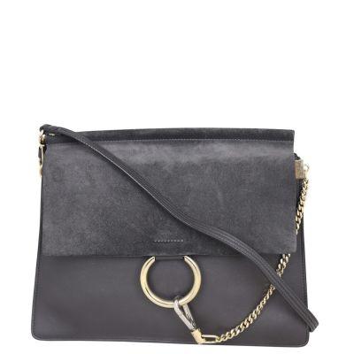 Chloe Faye Medium Shoulder Bag Front