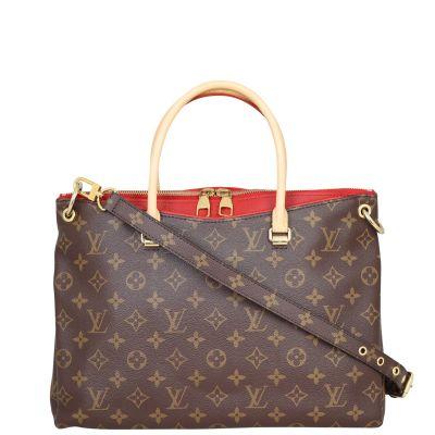 Louis Vuitton Pallas MM Monogram Front