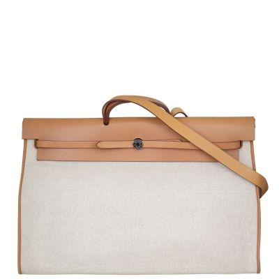Hermes Herbag Zip 50 Retourne Cabine Bag Front