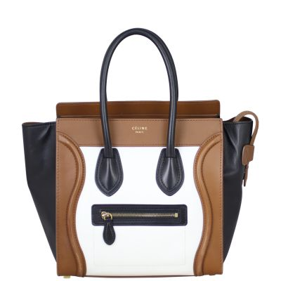 Celine Micro Luggage Tote Front