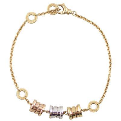 Bvlgari Tricolor Gold B.Zero1 Bracelet Front