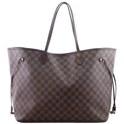 Louis Vuitton Neverfull GM Damier Ebene Front