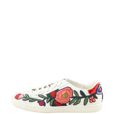 Gucci Ace Embroidered Sneakers Side